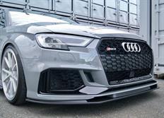 balance it spoiler pod originální přední nárazník Audi RS3 (typ 8V) facelift 2017-