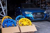 Dvoubarevná kola BC Forged na naší Audi RS3!