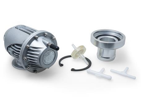 Sekvenční membránový Blow off ventil (BOV) stříbrný