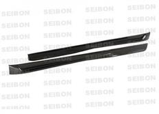 Boční prahy Seibon Carbon TT-Style pro VW Golf V GTI (1K, MK5) Hatchback r.v. 2006 - 2009