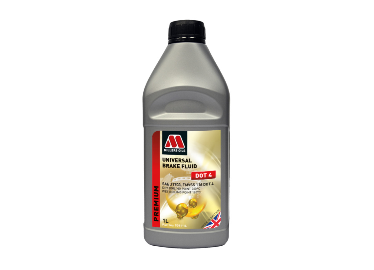 Brzdová kapalina Millers Oils Universal Brake Fluid DOT 4 1l