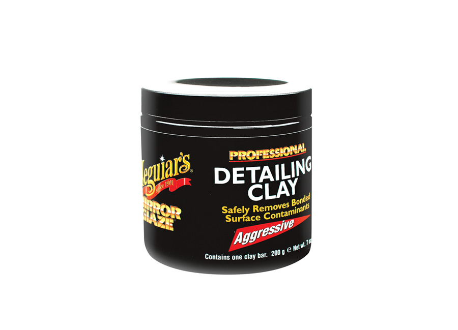Meguiar's Professional Detailing Clay - Aggressive - dekontaminační hmota, agresivní, 200 g