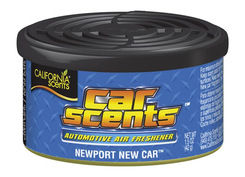 Osvěžovač vzduchu California Scents, vůně Car Scents - Nové auto