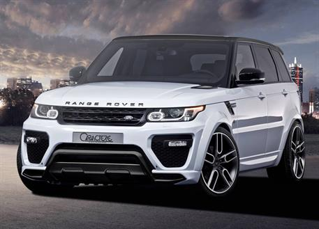 Caractere Exclusive kompletní přední nárazník pro Range Rover Sport