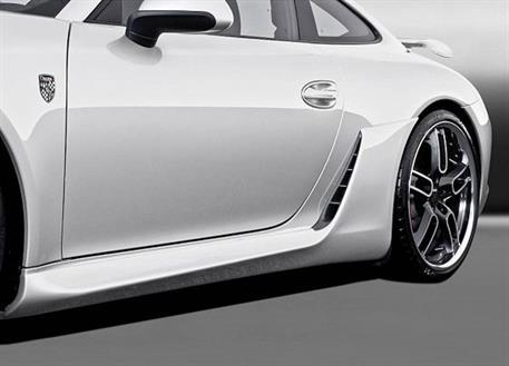 Caractere Exclusive sada bočních prahů s výraznými nádechy vzduchu pro Porsche 991