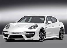 Caractere Exclusive sada nástavců bočních prahů pro Porsche Panamera model 2014