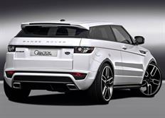 Caractere Exclusive 2-dílný střešní spoiler pro Range Rover Evoque -2015, 5-dvéřový model