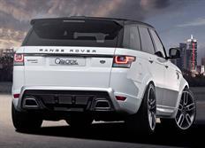 Caractere Exclusive kompletní zadní nárazník s koncovkami výfuku pro Range Rover Sport mimo verzi 5,0L Supercharged