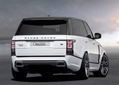 Caractere Exclusive kompletní zadní nárazník s koncovkami výfuku pro Range Rover