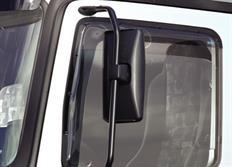 ClimAir protiprůvanové deflektroy oken (ofuky) pro nákladní vůz Bremach, 2-dveř., do r.v. 2000
