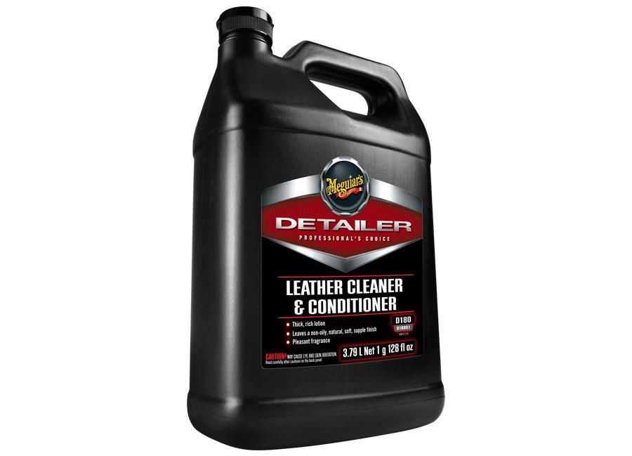 Meguiar's Leather Cleaner & Conditioner - profesionální čistič a kondicionér na kůži, 3,78 l