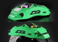 Přední brzdový kit D2 Racing pro Honda Jazz, průměr př. tl. 61mm, r.v. od 01 do 07, 4pístkové brzdiče, velikost kotoučů: 286X26 mm