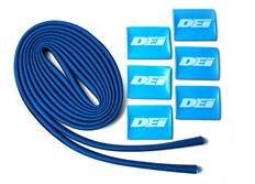 """DEi Design Engineering sada termo izolačního návleku """"Protect-A-Wire"""" délka 2,1 m + 6x koncovka s logem, modrá"""