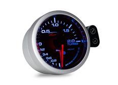 Přídavný budík Depo Racing Peak - Tlak turba elektronický -1 až 2bar