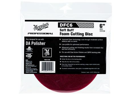 Meguiar's Soft Buff Foam Cutting Disc 6