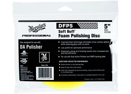 Meguiar's Soft Buff Foam Polishing Disc 5