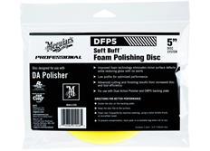 """Meguiar's Soft Buff Foam Polishing Disc 5"""" - lešticí kotouč pro DA leštičku (střední), 5palcový"""