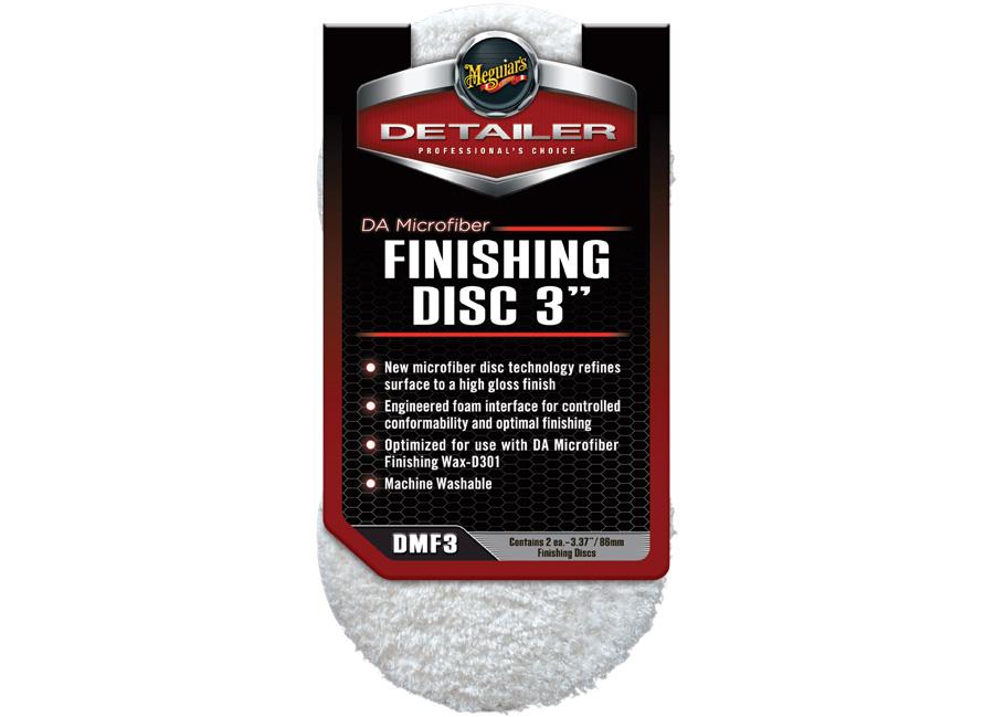 """Meguiar's DA Microfiber Finishing Disc 3"""" - finišovací mikrovláknový kotouč, 3palcový (2 kusy)"""