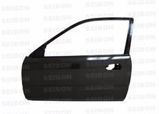 Dveře Seibon Carbon OEM-Style pro Honda Civic (EJ6/EJ7/EJ8/EK9/EM1) 2-dvéř. Coupé, 3-dvéř. Hatchback r.v. 1996 - 2000