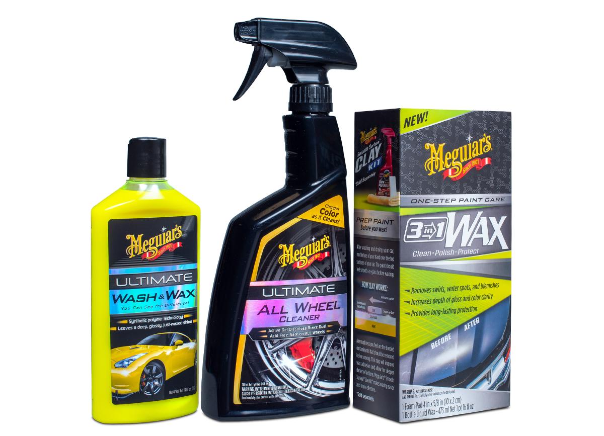 Meguiar's Essentials Car Care Kit - sada nepostradatelných produktů pro péči o auto