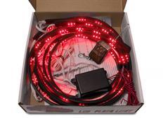 Flexibilní LED neony červené - sada s dálkovým ovládáním