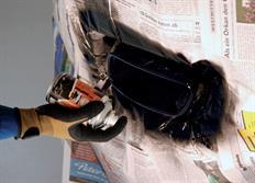 FOLIATEC dvousložková barva na koncovky výfuku ve spreji stříbrná