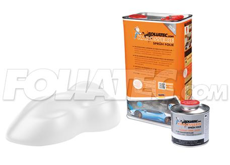 FOLIATEC barva pro lakovací systém 5l - bílá matná
