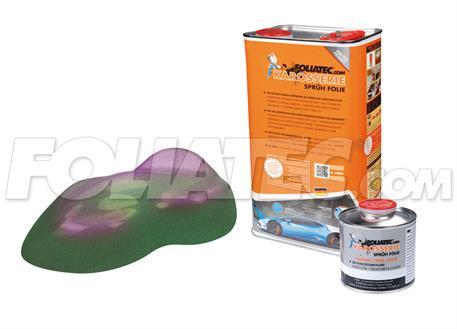 FOLIATEC barva pro lakovací systém 5l - chameleon (zeleno-fialová)