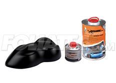 FOLIATEC barva pro lakovací systém 900ml + 100ml - černá matná