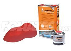 FOLIATEC barva pro lakovací systém 5l - červená metalická matná