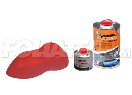 FOLIATEC barva pro lakovací systém 900ml + 100ml - červená metalická matná