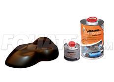 FOLIATEC barva pro lakovací systém 900ml + 100ml - hnědá metalická matná