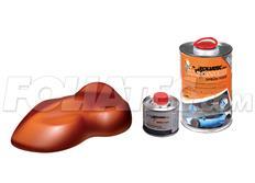 FOLIATEC barva pro lakovací systém 900ml + 100ml - měděná metalická matná
