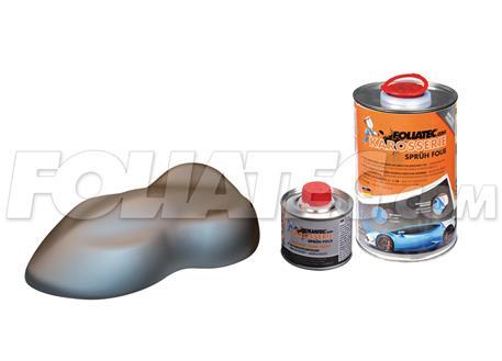 FOLIATEC barva pro lakovací systém 900ml + 100ml - šedá metalická matná