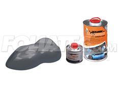 FOLIATEC barva pro lakovací systém 900ml + 100ml - stříbrná metalická matná