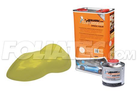 FOLIATEC barva pro lakovací systém 5l - žlutozelená metalická matná