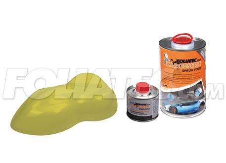 FOLIATEC barva pro lakovací systém 900ml + 100ml - žlutozelená metalická matná