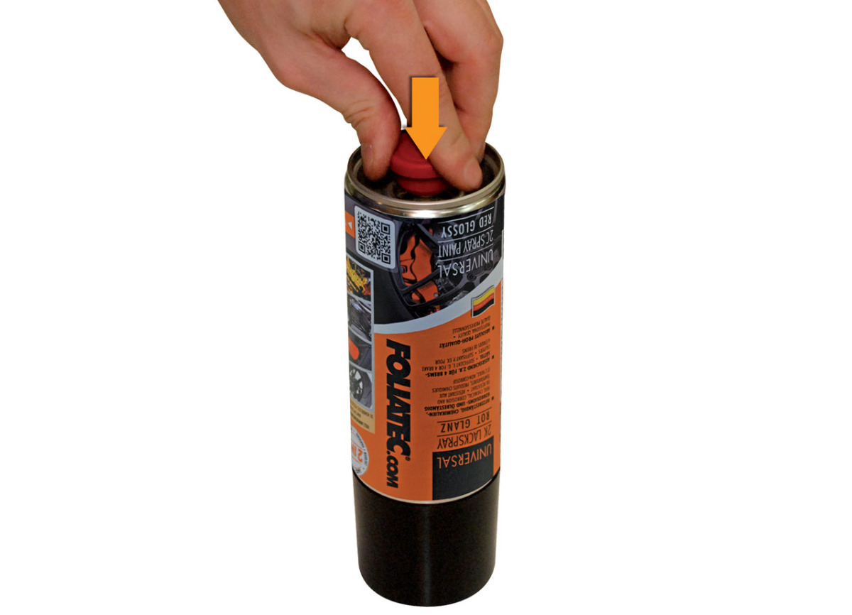 FOLIATEC univerzální dvousložková 2C barva ve spreji, barva: stříbrná metalická