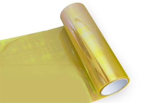 Transparentní fólie na světla chameleon žlutá