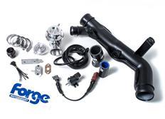 Forge Motorsport kompletní Blow Off Ventil (BOV) s větším průchodem vzduchu pro VW/Audi/Seat motory 2.0 TFSi s turbem K03
