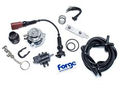 Forge Motorsport kompletní Blow Off Ventil (BOV) pro VW/Audi/Škoda 1.4TSi / 1.8TSi / 2.0TSi / TFSi, stříbrný