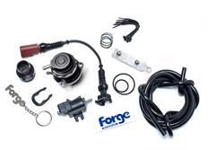Forge Motorsport kompletní Blow Off Ventil (BOV) pro VW/Audi/Škoda 1.4TSi / 1.8TSi / 2.0TSi / TFSi, černý