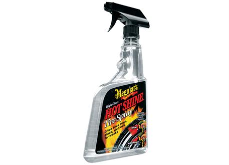 Meguiar's Hot Shine Tire Spray Trigger - vysoký lesk na pneumatiky v rozprašovači, 710 ml