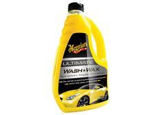 Meguiar's Ultimate Wash & Wax - luxusní, nejkoncentrovanější autošampon s příměsí karnauby a polymerů, 1420 ml