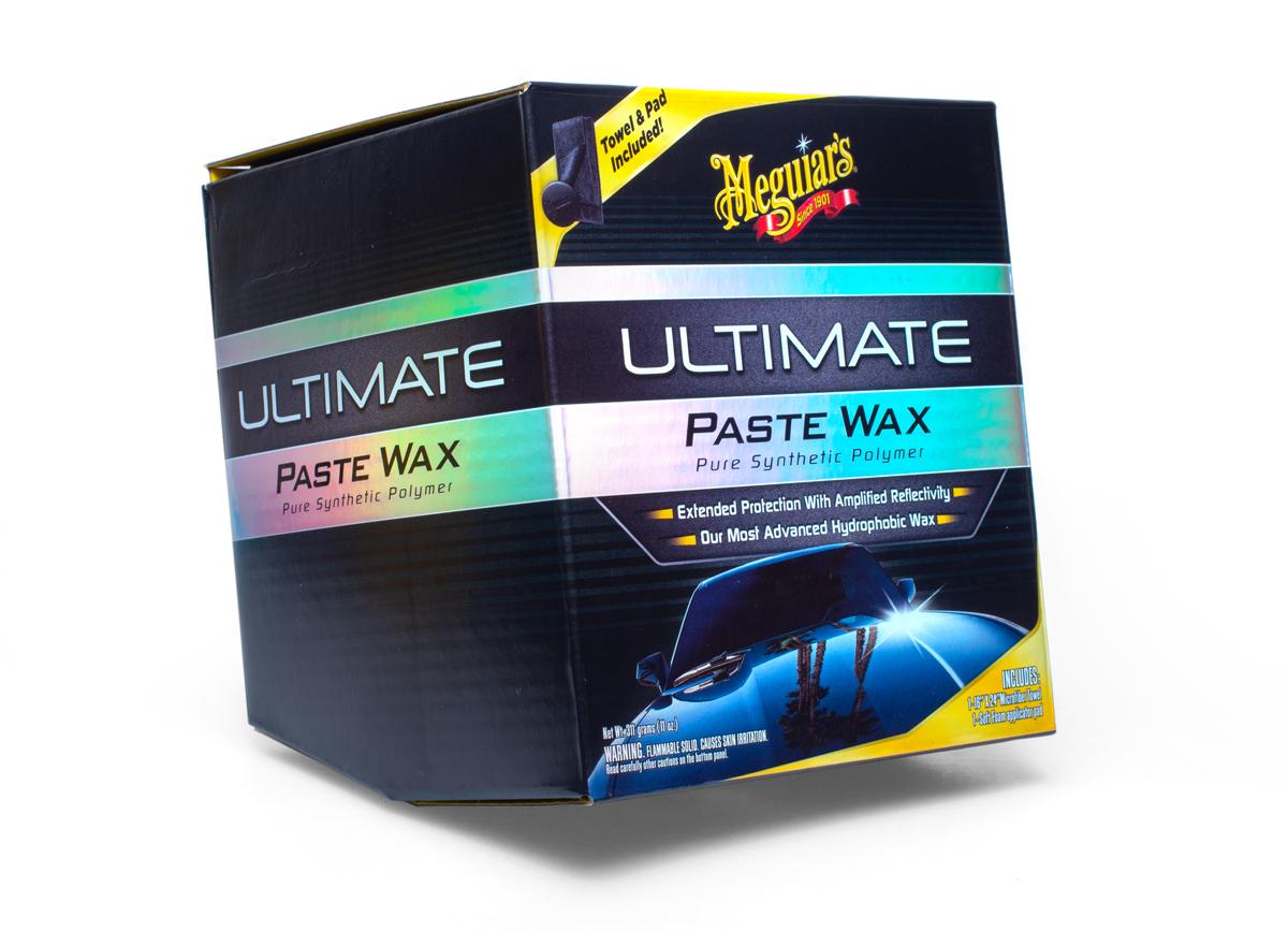 Meguiar's Ultimate Wax Paste - špičkový tuhý vosk na bázi syntetických polymerů, 311 g