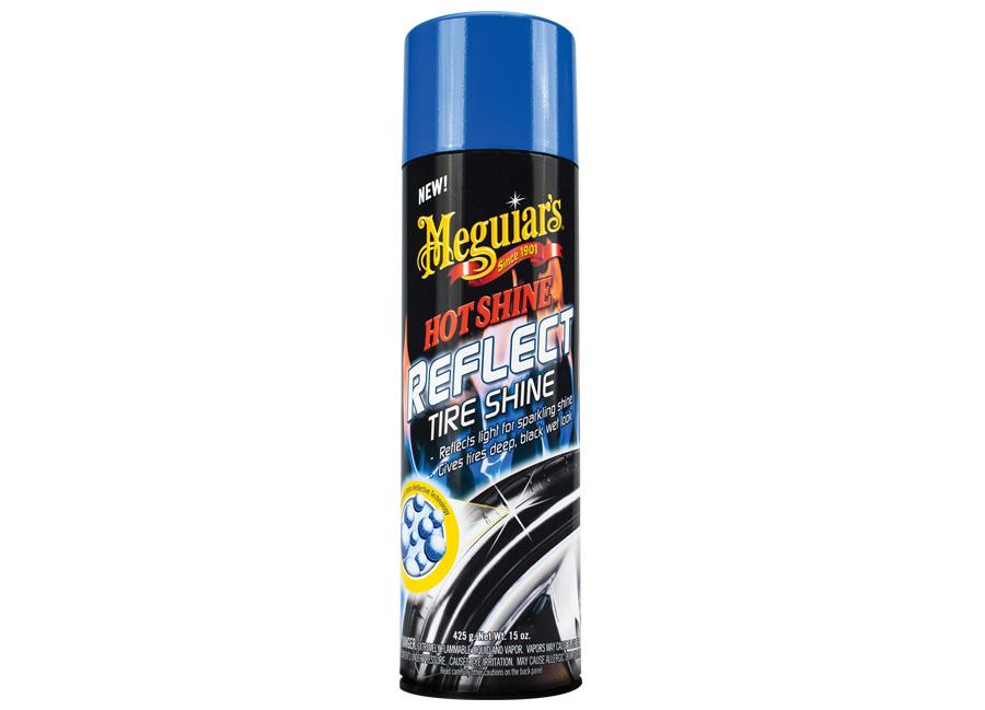 Meguiar's Hot Shine Reflect Tire Shine - přípravek pro unikátní třpytivý lesk pneumatik, 425 g