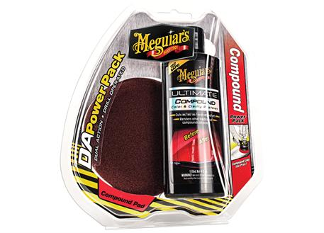 Meguiar's DA Power Pack Compound - sada pro korekci laku
