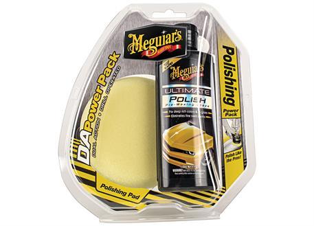 Meguiar's DA Power Pack Polish - sada pro leštění do vysokého lesku