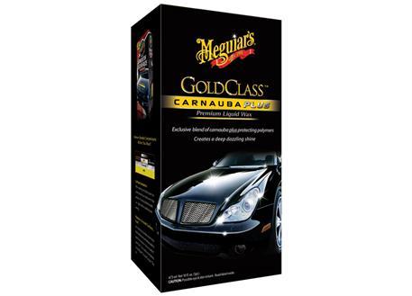 Meguiar's Gold Class Carnauba Plus Premium Liquid Wax - tekutý vosk s obsahem přírodní karnauby, 473 ml
