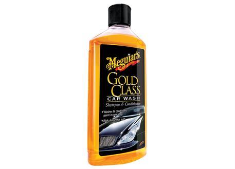 Meguiar's Gold Class Car Wash Shampoo & Conditioner - extra hustý autošampón s kondicionéry, 473 ml
